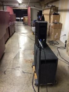 UPJ mic behind plexi