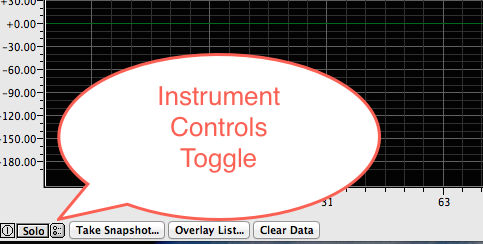 instrument controls toggle