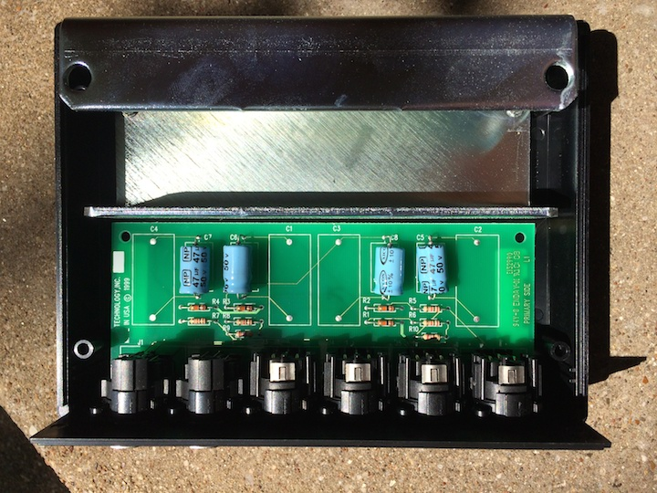 Avid Audio Splitter inside