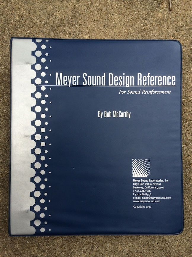 Meyer Sound Design Reference