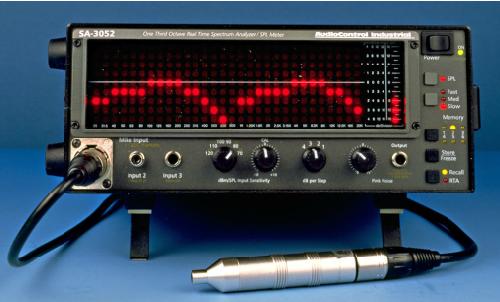 Audio Control SA 3052 front panel
