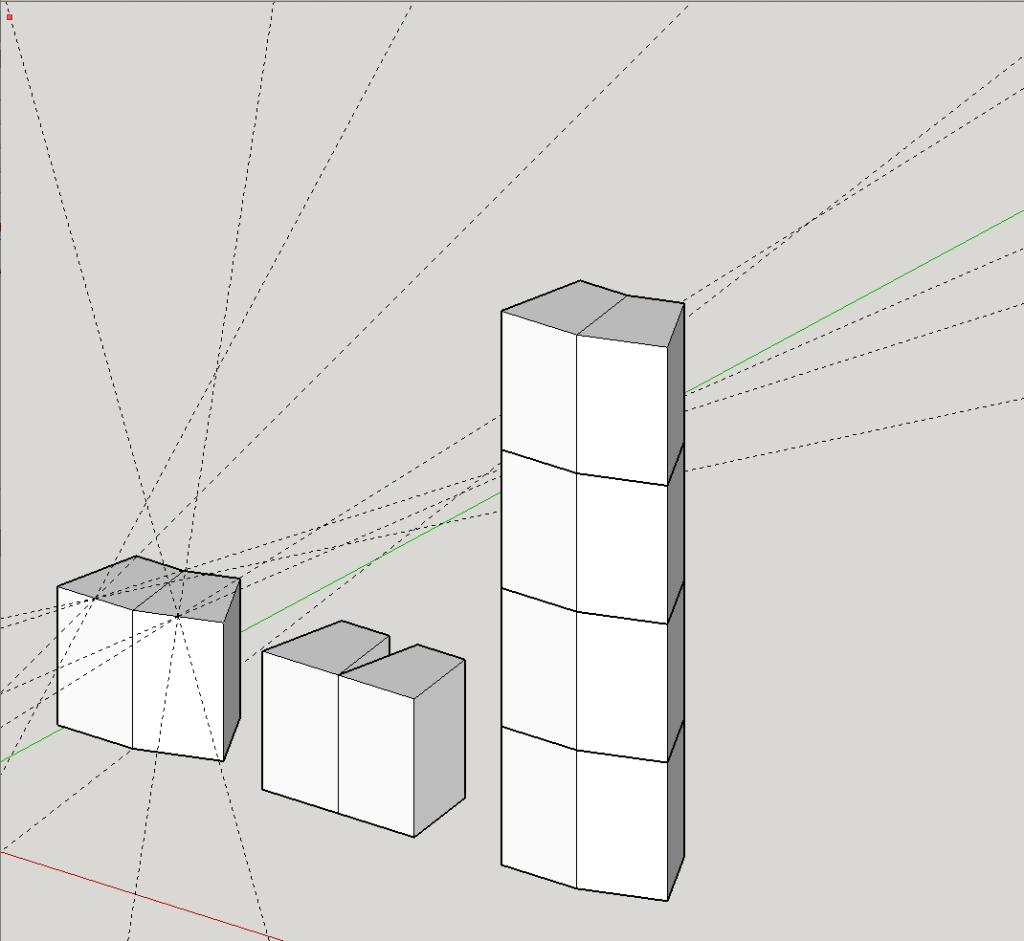 EAW KF850 Sketchup array 1