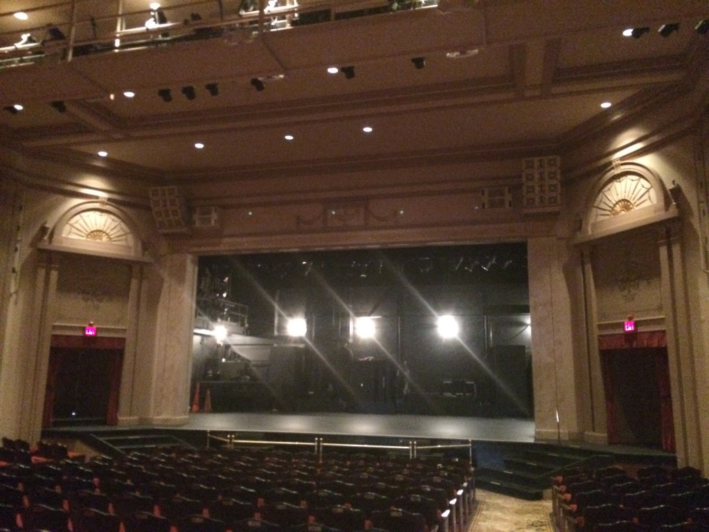 whbpac view of stage