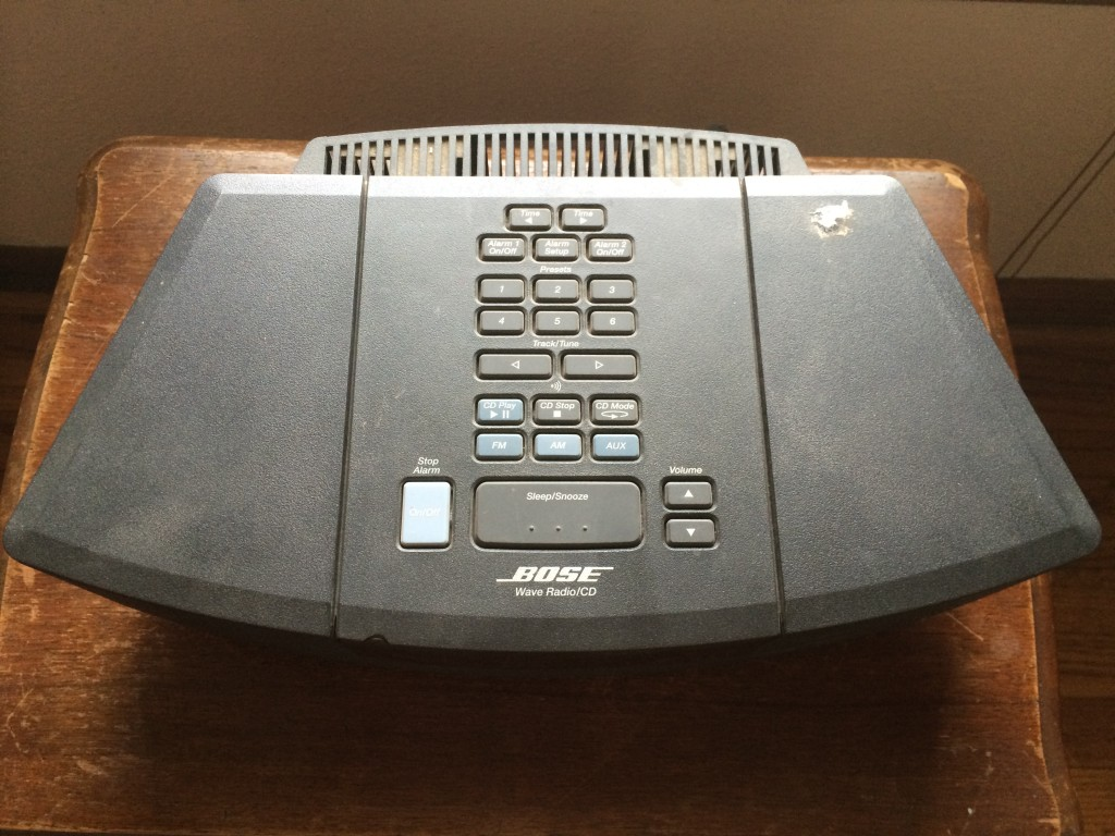 Bose Wave Radio CD top