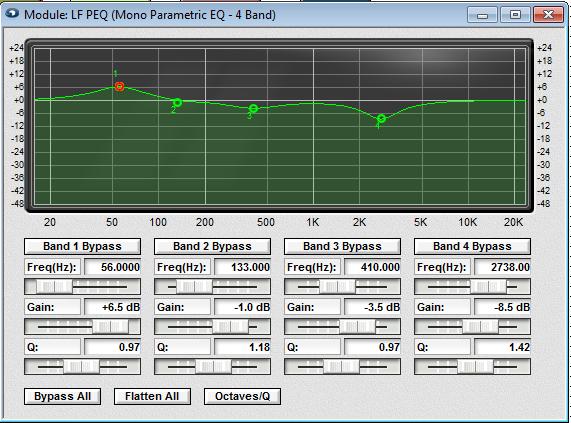 Fulcrum Acoustics  DX1265 LF PEQ