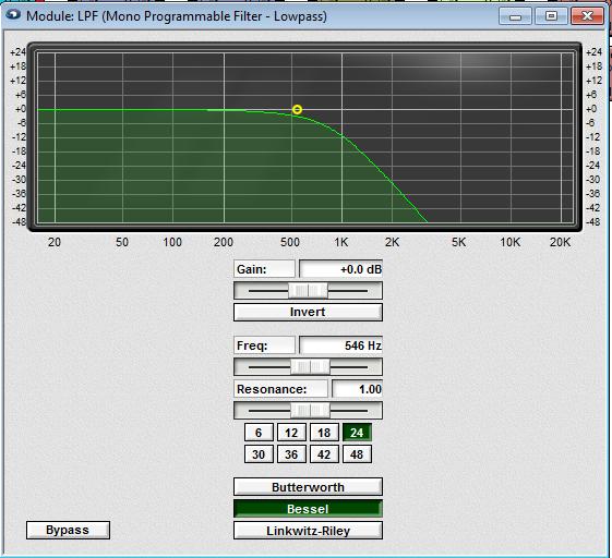 Fulcrum Acoustics  DX1265 LPF
