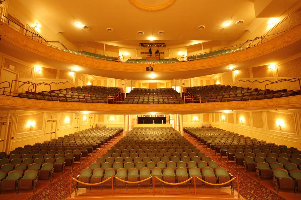 Miller Symphony Hall Interior