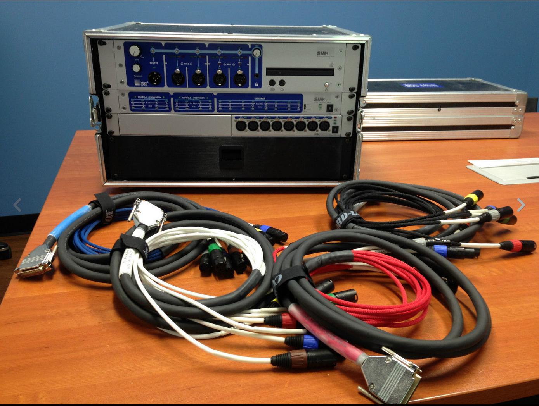 Solotech Meyer Sound SIM 3 rig 2