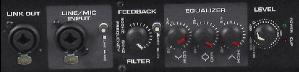 Rockville  RSM15a control panel