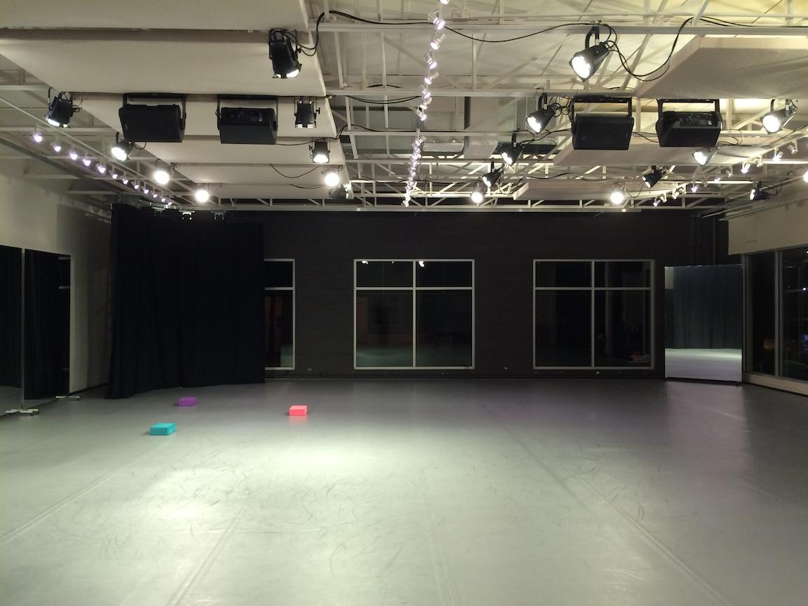 Bruce Wood Dance Project studio 101