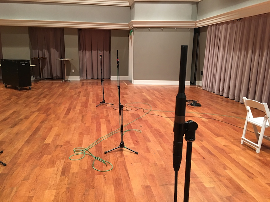 VCRH 3 mics