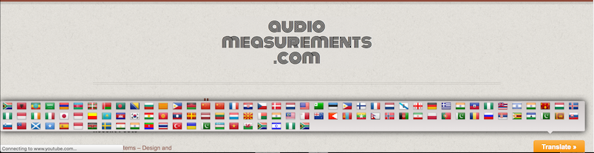Google Translate Audio