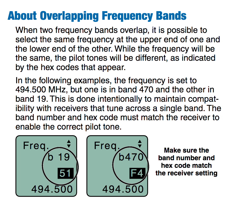 Audiomeasurements notice that this is a very specific situation where you need the combination of a narrow band device 470 or 19 block with a wideband device in the a1 band fandeluxe Images